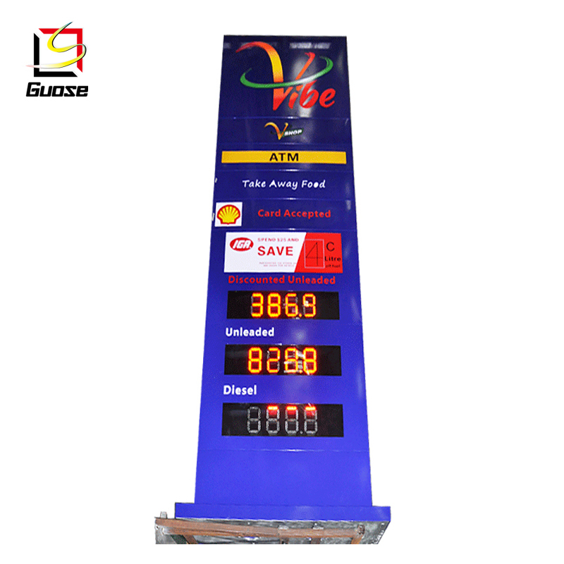 Led Gas Price Signs China Led Gas Price Signs