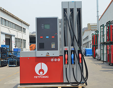 China Fuel Dispenser of 2 Display 1 Nozzle 1pump China